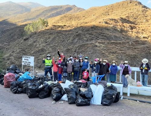 SINERSA desarrolla taller de manejo de residuos sólidos en las comunidades de Ravira y Viscas