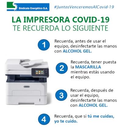 Infografía impresora